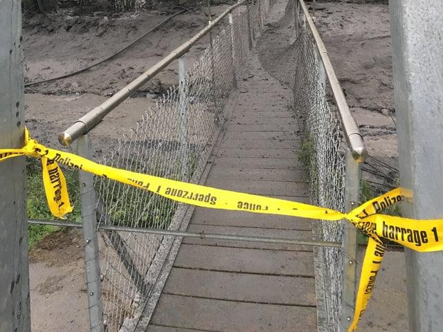 Brücke über die Losentze.