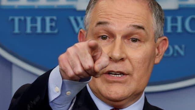 Der Leiter der US-Umweltbehörde, Scott Pruitt.