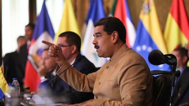 President venezuelan Nicolas Maduro.