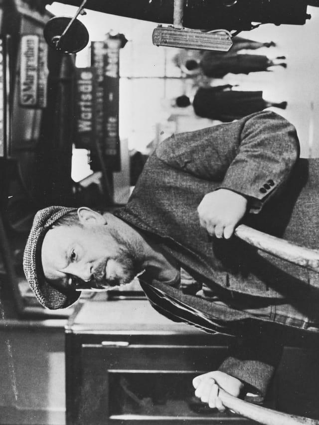 Max Haufler in einem der Franz Schnyder Filme.