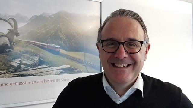 Martin Vincenz, directur da Grischun Vacanzas.