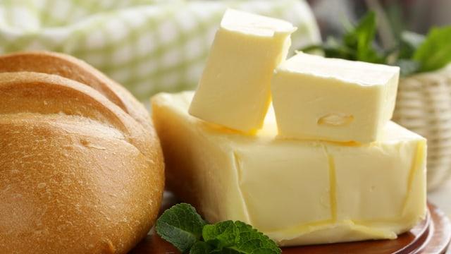 Laktosefreie Butter nur selten nötig: