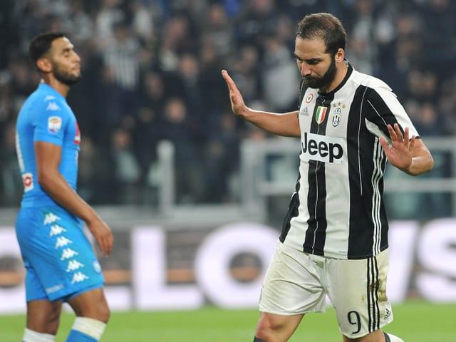 Gonzalo Higuain im Juventus-Trikot.