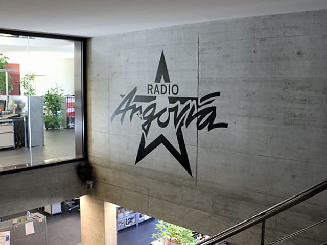 Radio Argovia, Blick in die Redaktion und Werbe-Abteilung