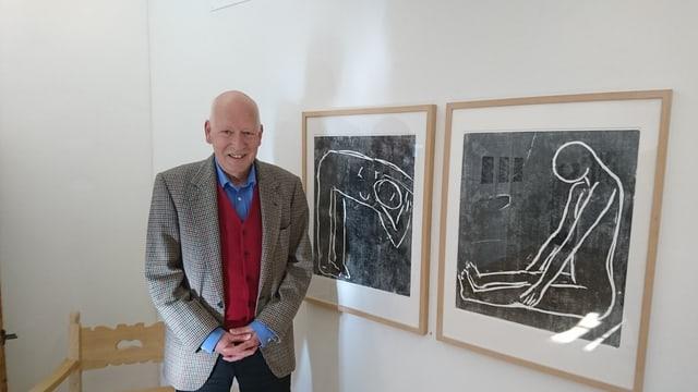 Beat Stutzer sper sias duas ovras preferidas, ovras da l'artist Joachim Dierauer.