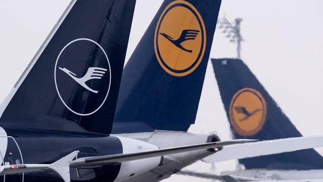Logo da la Lufthansa.