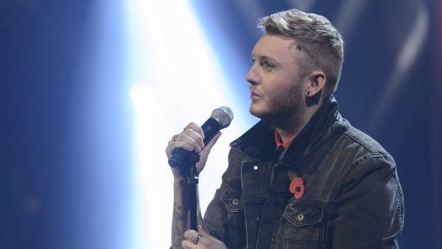 Knackt er die Nummer eins? Der aktuelle X-Factor Gewinner James Arthur.