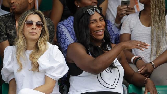 Serena Williams kann John McEnroes Kritik Äusserungen nicht wirklich ernst nehmen.