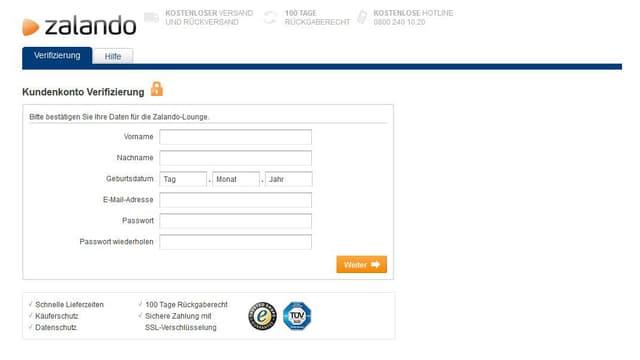 Screenshot eines Betrugsversuches.