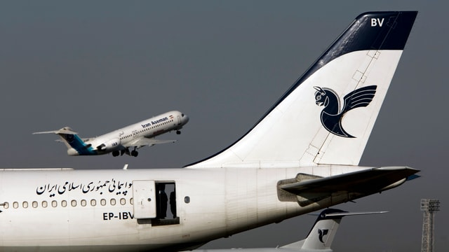 aviun e logo da la aseman airline
