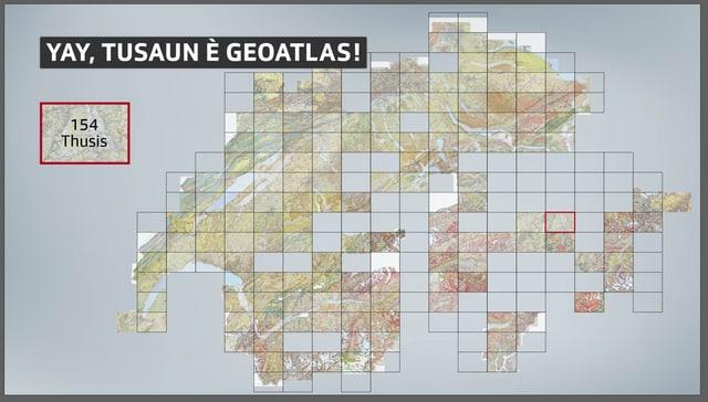 Betg l'entir Grischun ha anc ina carta geologica 1:25:0000.