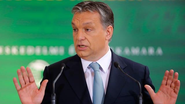 Der ungarische Ministerpräsident Victor Orban