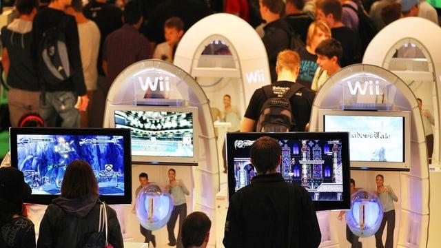 Messe für Computerspiele