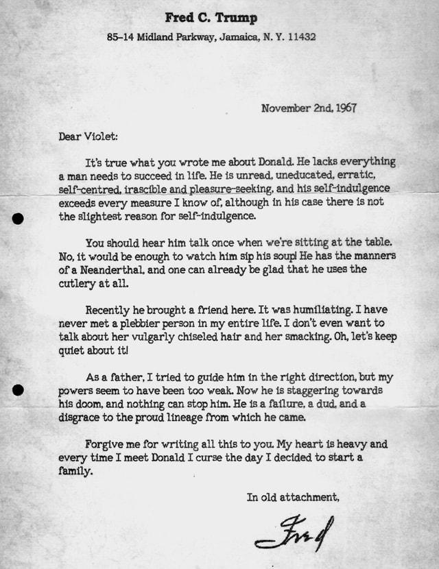 Bild eines alten Briefes