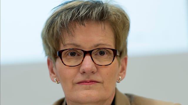 Regierungsrätin Sabine Pegoraro
