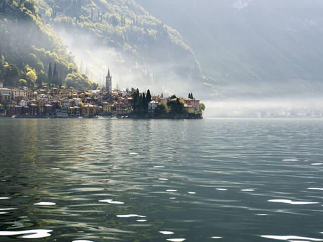 Das Dorf Varenna am Lago di Como