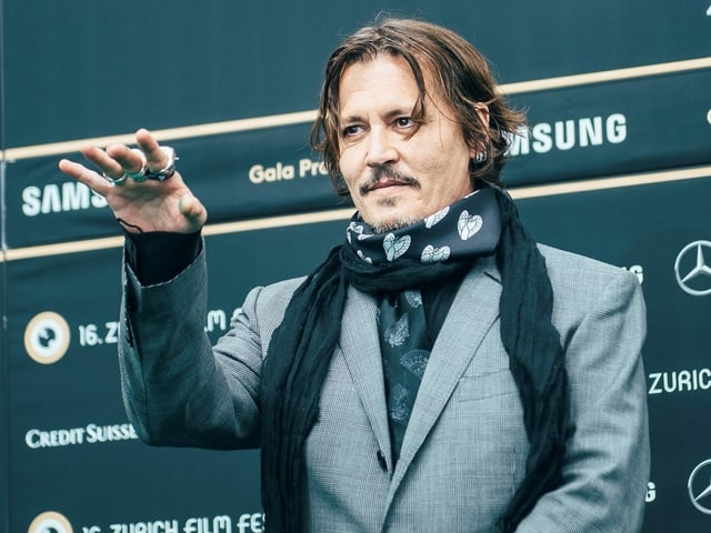 Bereits zum zweiten Mal beehrt Schauspieler Johnny Depp das ZFF.