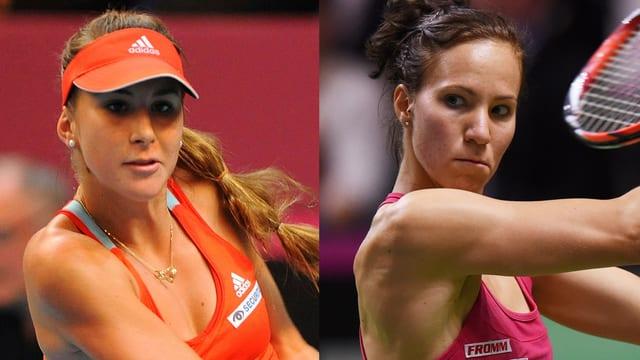 Belinda Bencic und Viktorija Golubic