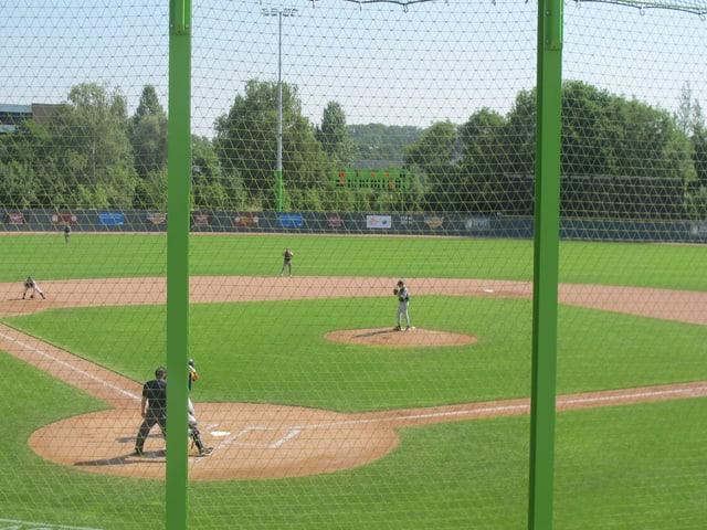 Baseball-Feld auf dem Heerenschürli in Schwamendingen.