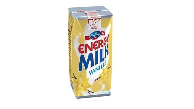 Viel Zucker in «Energy Milk» von Emmi