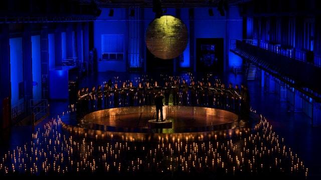 Atmosfera da Nadal tar il concert d'Origen.