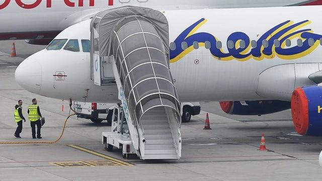 Die Flugzeuge der Basler Fluggesellschaft blieben im Oktober 2012 für immer am Boden.