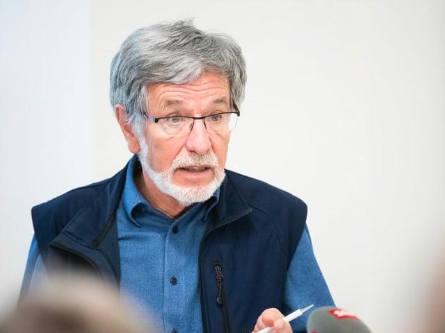 Johannes Flury, president da la Lia Rumantscha