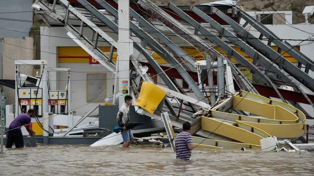 In bajetg devastà ed inundaziuns.