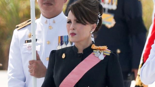 Die Prinzessin bei einem öffentlichen Auftritt 2017
