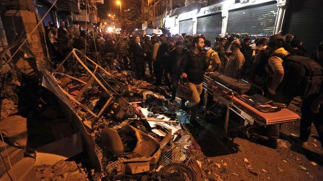 Attentat en la chapitala libanaisa Beirut.