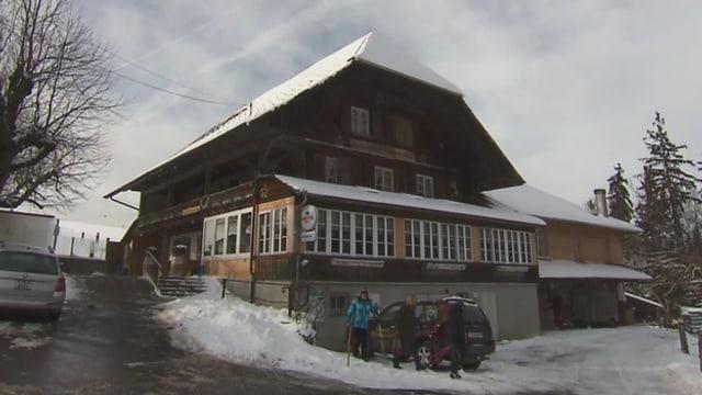 Video «Restaurant Bütschelegg in Oberbütschel (BE) - Tag 1» abspielen
