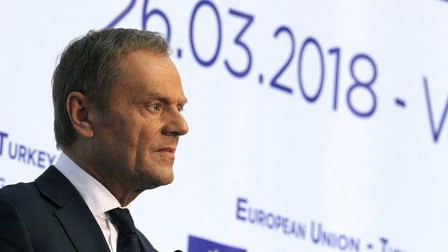 Il president da l'EU Donald Tusk.