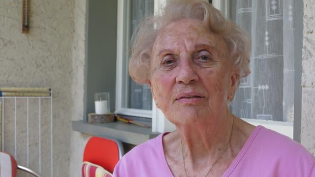 Ein Porträt von Miranda Haegeli.