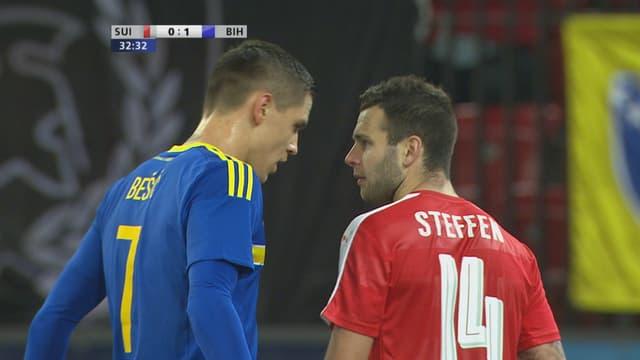 Kolasinac und Steffen.