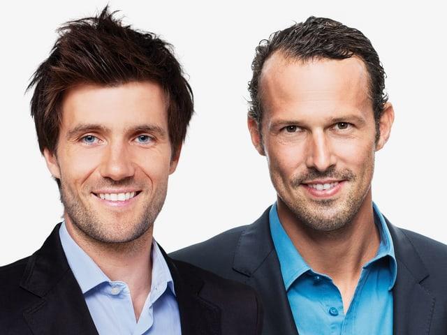 Raphael Wicky und Marco Streller im Porträt.