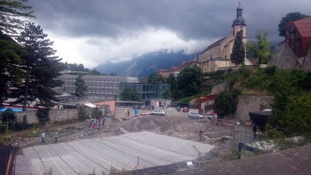Sut la catedrala da Cuira: Ils archeologs han mess liber las ruinas da la veglia «Münzmühle».