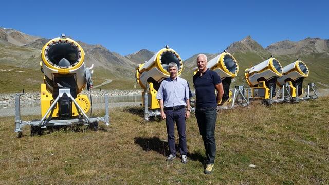 Andri Lansel ed Egon Scheiwiller
