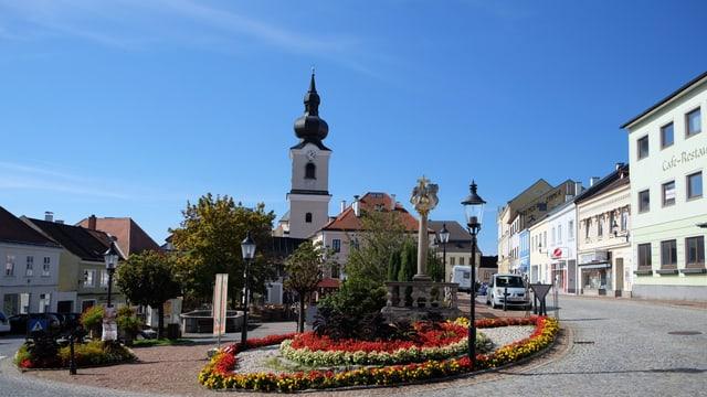 Dorfplatz in Heidenreichstein