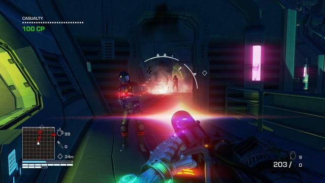 Mündungsfeuer in Neon!