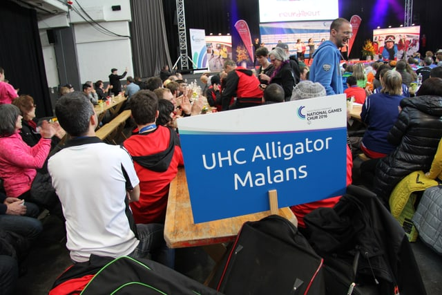 L'equipa d'Alligator Malans.