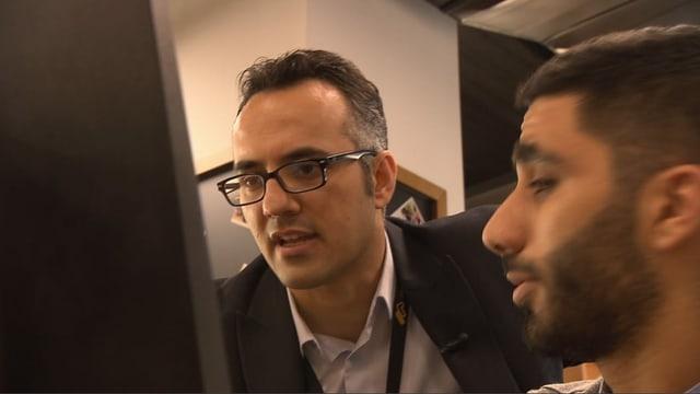 Start-up-Gründer Ahmad Ramahi