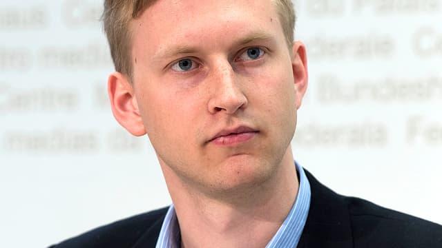 JCVP-Präsident Jean-Pascal Ammann.