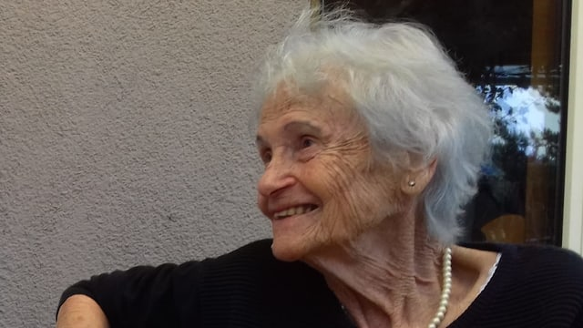 Ruth Walthers Sehnsuchtsort heisst Buchberg