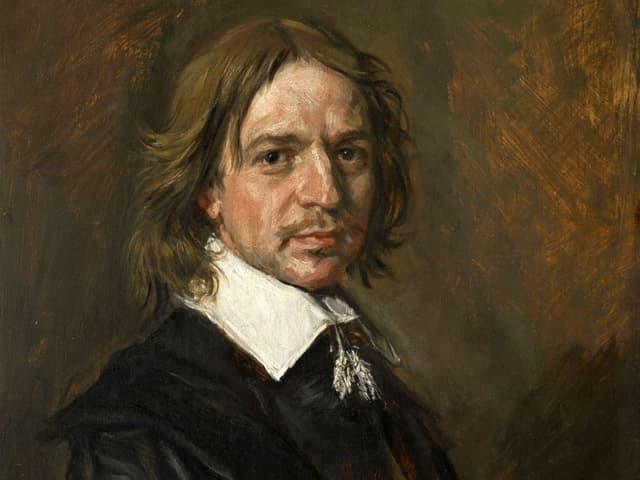 Ein Porträt von Maler Frans Hals.