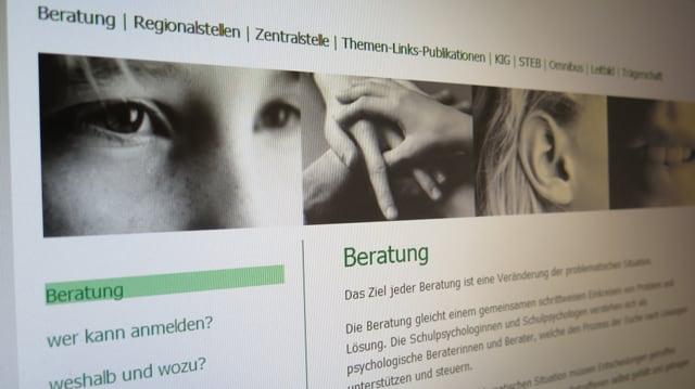Webseite des Schulpsychologischen Dienstes