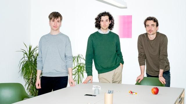 Christian, Mario, René vom Studio Porto im Dezember 2017 gegründet.