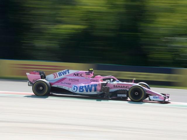 Esteban Ocon wird für das neue Team in Belgien starten.