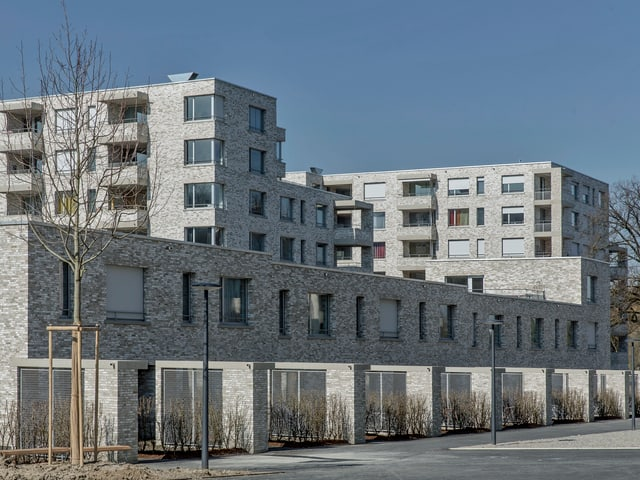 Siedlung «Mattenhof» in Zürich Schwamendingen