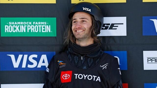 Il snowboardist svizzer Pat Burgener sin il podest