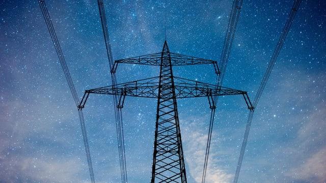 Hochspannungs-Strommast